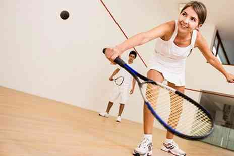 Sobell Sports Centre - Three Squash Court Sessions With Racquets - Save 64%