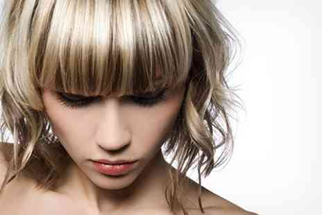 Inspirations Hair Design - Cut With Half Head Highlights - Save 63%