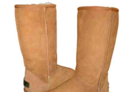 Shepherds Life - £55 voucher to spend on sheepskin lined footwear including Ugg style boots - Save 55%