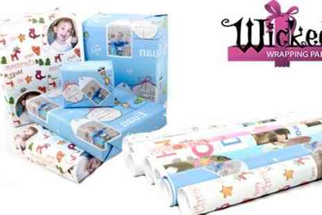 Wicked Wrapping Paper - Personalised Wrapping Paper - Save 50%
