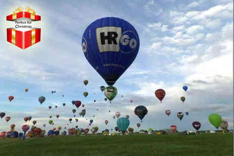 Merlin Balloons - Four hour weekday hot air balloon experience including bubbly - Save 51%