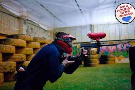 Urban Paintball Edinburgh - Indoor paintballing experience for two - Save 92%