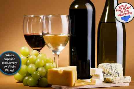 The Tasting Rooms - Two hour wine and cheese tasting experience for one - Save 68%