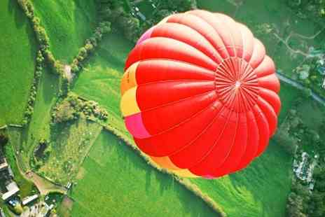 Ballooning In The Cotswolds - Ballooning In The Cotswolds Flight For Two With Champagne - Save 50%