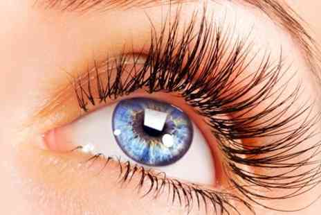Eclipse Hair Designs - Full Set of Individual Eyelash Extensions - Save 73%