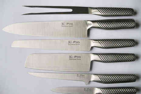 Garden Games and Leisure - K-Pro Christmas Knife Carving Set - Save 74%