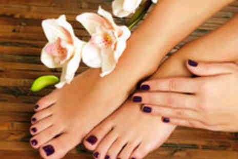 Citi Studio - Shellac Manicure and Pedicure for One - Save 68%