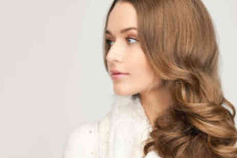Parlour Hair - Cut and Blow Dry with Conditioning Treatment and a Glass of Wine - Save 66%