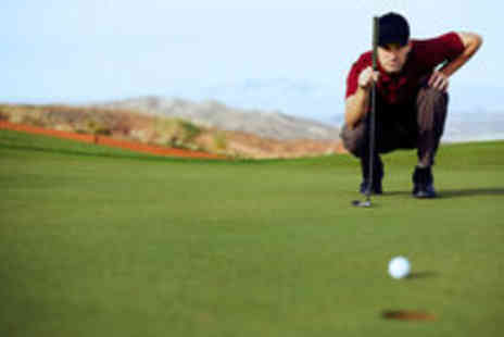 Manchester Golf Performance Centre - PGA Professional Golf Tuition with Video Analysis - Save 64%