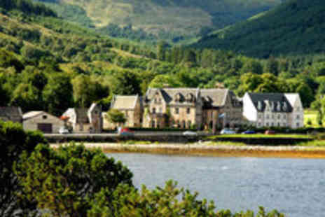 The Ballachulish Hotel - Scottish Loch Getaway for Two with £20 Dinner Voucher - Save 54%