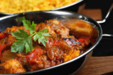 Shimla Pinks - Indian Meal for Two or Four People - Save 59%