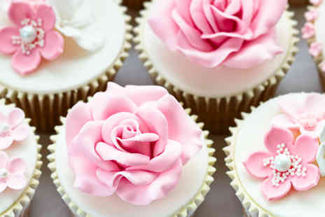Cafe Central Matlock - Three Hour Cupcake Master class for One or Two - Save 46%