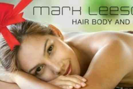 Mark Leeson Hair Body - Elemis Deep Tissue Massage and Choice of Elemis Skin Specific Facial - Save 72%