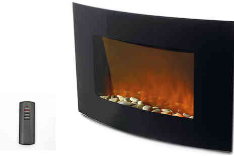Better Bargains - Stylish 500W  Remote controlled electric fireplace - Save 59%