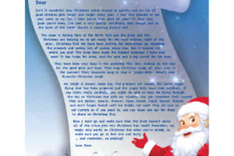 Personal Christmas Letters - Letters from Father Christmas - Save 55%