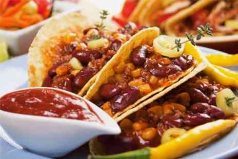 House Chester - Tex Mex Meal With Beer For Two - Save 50%