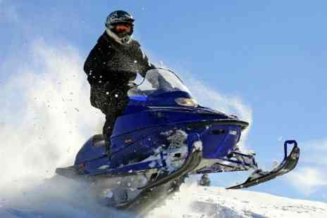 Rina Tours and Travel - Three Night Carpathian Snowmobile Tour With Meals and Transfers For Two  - Save 47%