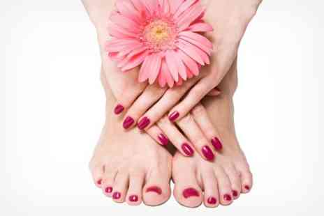 Ego beauty - Jessica Geleration Manicure or Deluxe Pedicure or Both - Save 71%
