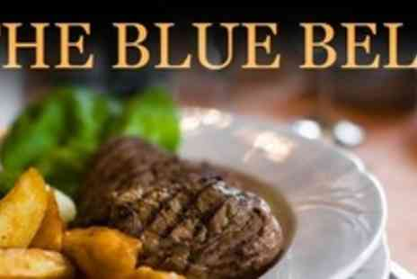 The Blue Bell - Three Courses of British Fare With After Dinner Coffee For Four - Save 60%