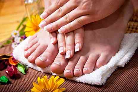 SOS Professionals - Gel Manicure or Pedicure or Both - Save 60%