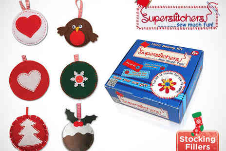 Superstitchers - One Christmas Themed Sewing Kits - Save 50%