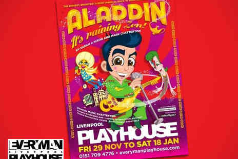 The Liverpool Playhouse - Family Tickets to Aladdin It's Raining Zen - Save 50%