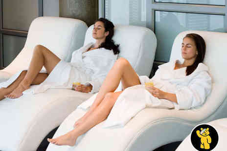 Eden Spa at BEST WESTERN Diplomat Hotel - Spa Day with Towel and Robe with Lunch and Prosecco on Arrival for Two - Save 47%