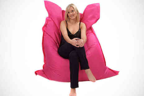 Loveyourbeanbag - Jumbo Beanbag in Choice of Colours - Save 75%