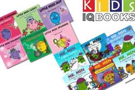 KidsIQ - Mr Men and Little Miss Glitter 6 Book Collection - Save 47%