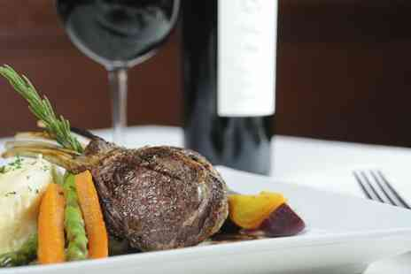 The Hilton - Five course Sunday lunch for two with Bucks Fizz - Save 41%
