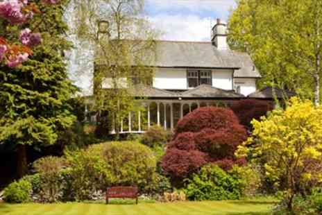 Burn How Garden House Hotel - Lake District Getaway w Dinner & Wine Was - Save 45%