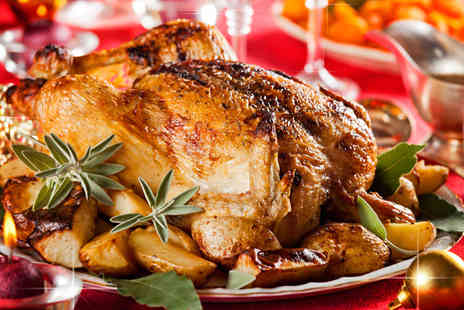 Highland Foods - Christmas hamper including a whole duck whole chicken turkey breast - Save 44%