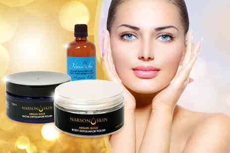 Narson Skin - Argan Gold skincare bundle - Save 83%