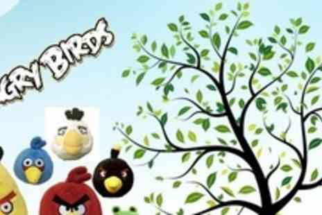 Ready Steady Bed - Angry Birds Plush Toy - Save 50%