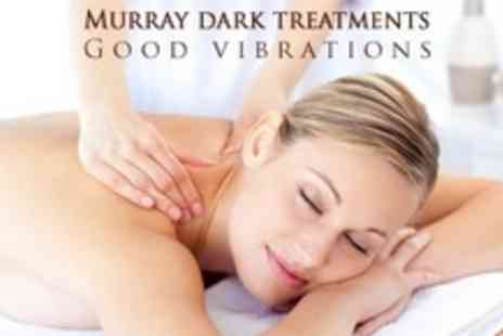 Murray Dark Treatments  - Back Neck and Shoulder Massage With Foot Massage or Face Massage - Save 70%