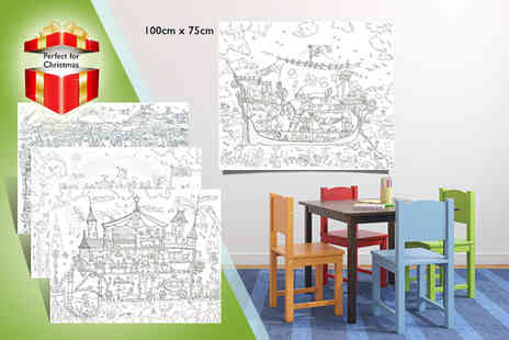 Really Giant Posters - Three giant colouring posters - Save 50%