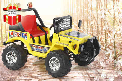 Giant Red 7 - Electric jeep in a choice of three fab colours - Save 60%