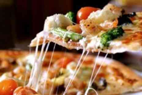 Sole D'oro - Half Metre of Pizza and Two Glasses of Wine  - Save 52%
