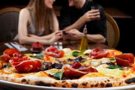 NOM Hanley - Pizza Meal With Drinks For Two - Save 47%