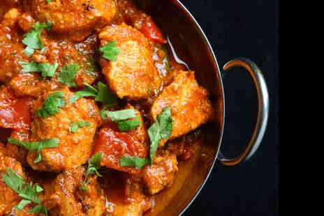 Bombay Spice - Two Course Indian Meal for Two People - Save 56%