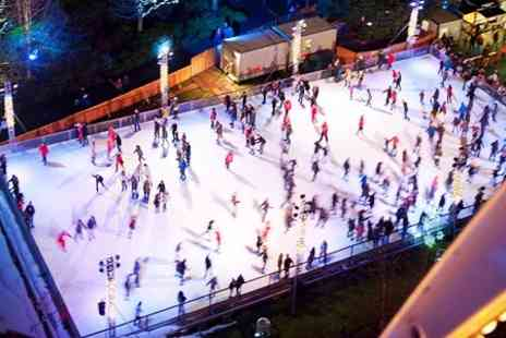 Bluewaters Winter Wonderland - Ice Skating For Two With Hot Chocolate - Save 50%