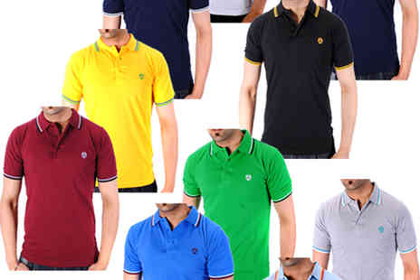 Sport mart - Raiken By Soulstar Twin Tipped Polo Shirts - Save 78%
