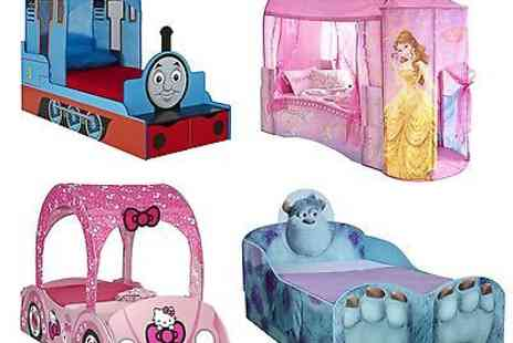 Global - Kids Disney And Character Feature Toddler Beds New - Save 60%