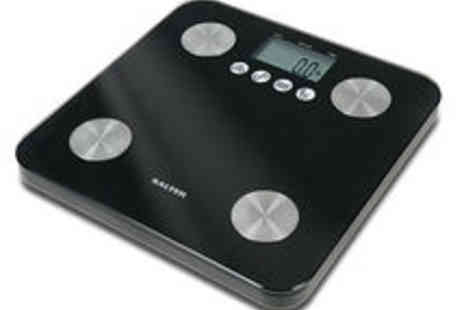 HoMedics - Salter 9106 Black Glass Analyser Scale - Save 58%