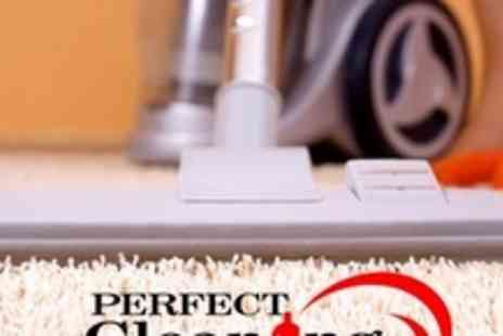 Perfect Cleaning Solutions - Carpet Clean For Any Two Rooms or Areas - Save 66%
