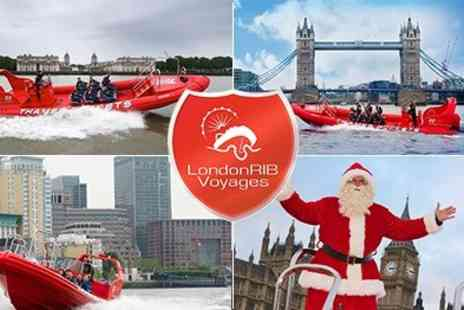 London RIB Voyages - An Unforgettable Family Experience! Family Ticket - Save 50%