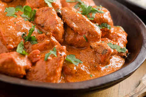 The Chilli Lodge - Two course Indian meal for 2 people - Save 50%