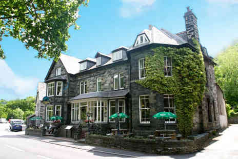 Glan Aber Hotel - Two night stay for 2 people including full Welsh breakfast - Save 45%
