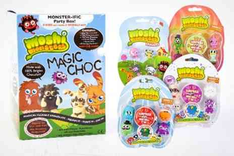 Sensible Supplies - Moshi Monster Chocolate Model Making Kit Plus Toy - Save 50%