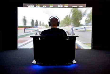 The Race Centre - Four Race Simulator Practice Sessions - Save 0%
